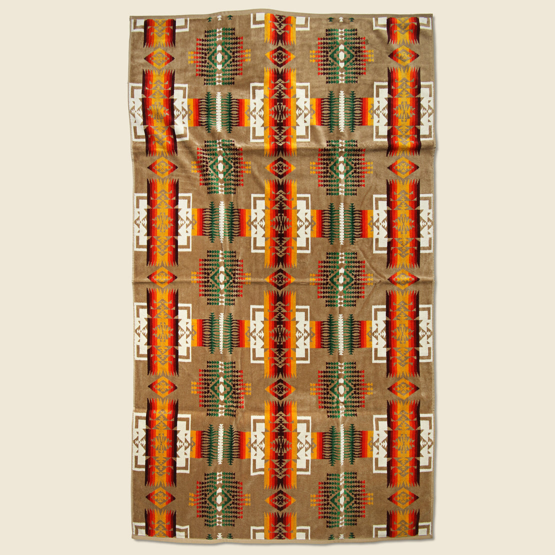 Pendleton Chief Joseph Towel - Khaki
