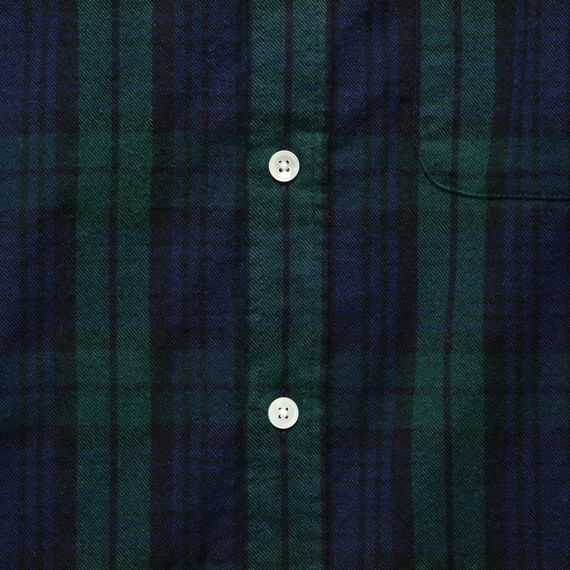 Bonfim Plaid Flannel - Blackwatch
