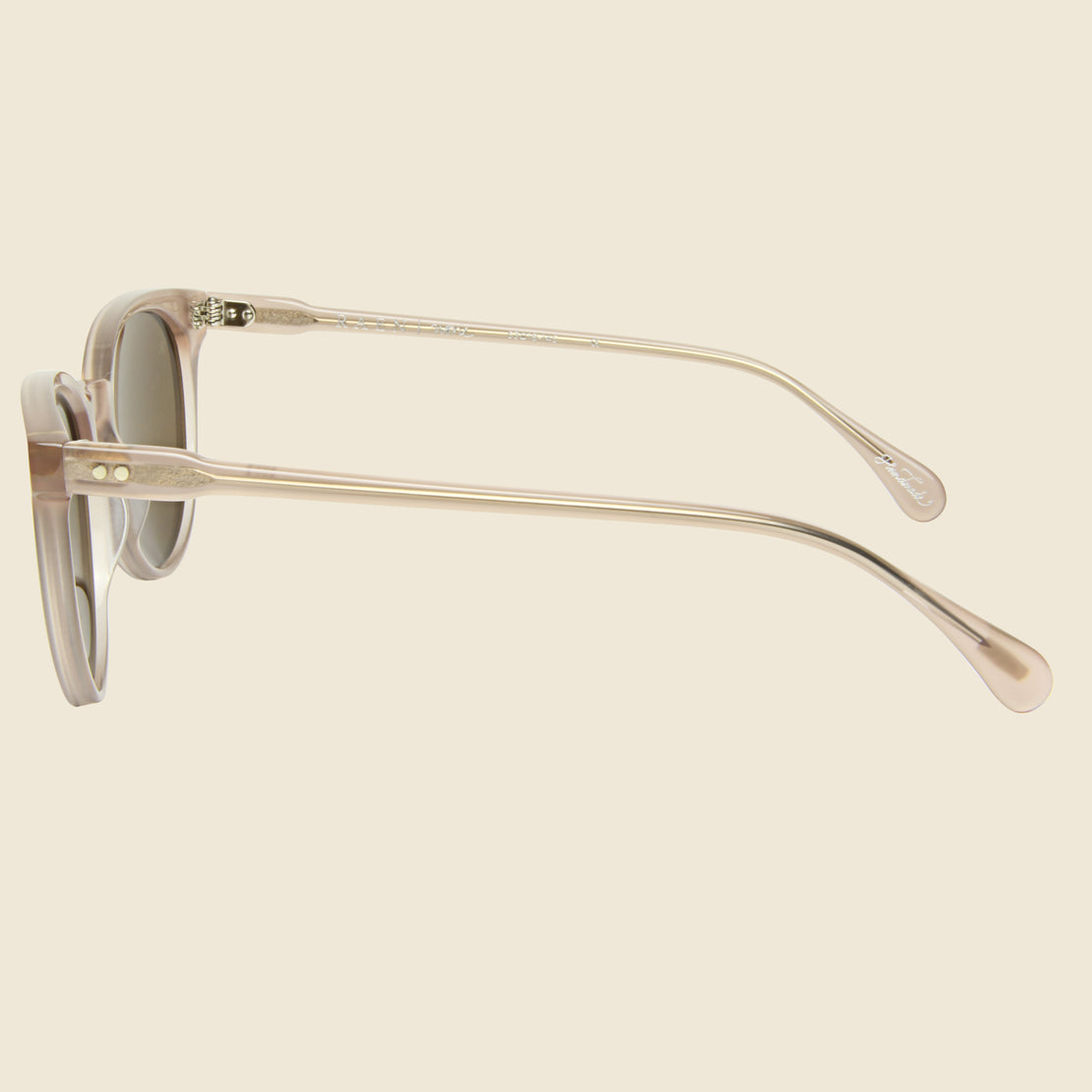 Norie Sunglasses - Rose/Brown Silver Mirror