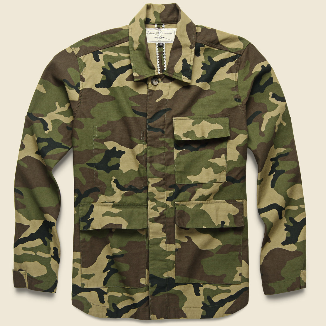 Rogue Territory Drifter Jacket - Olive Camo