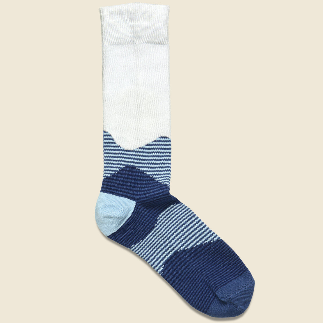 Richer Poorer Oakley Crew Sock - Blue Multi