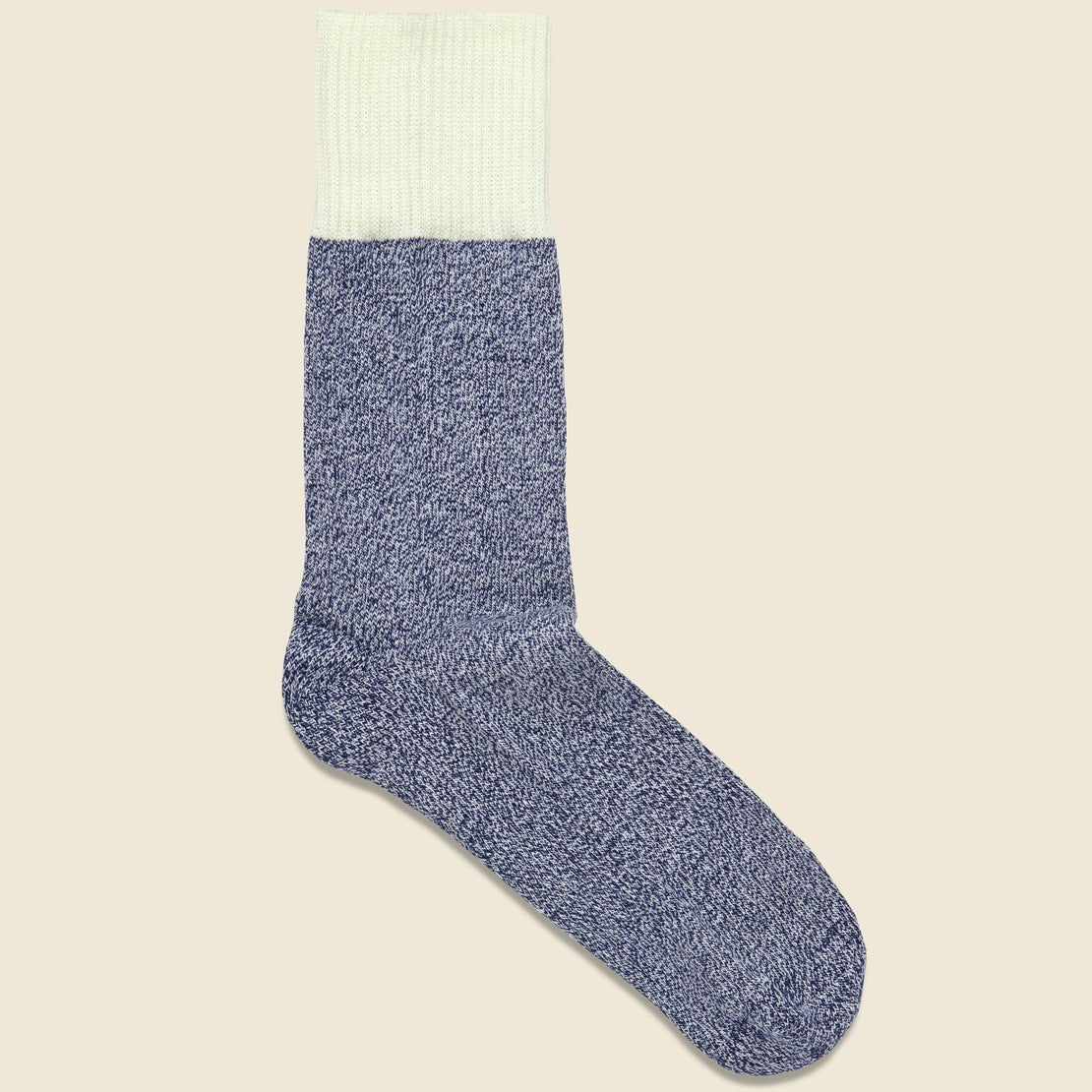 Richer Poorer Raya Crew Sock - Navy