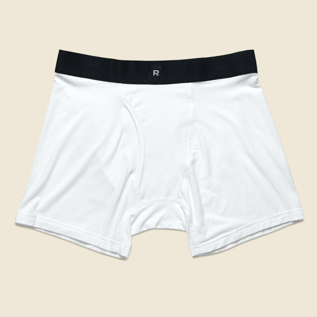 Richer Poorer Lewis Boxer Brief - White