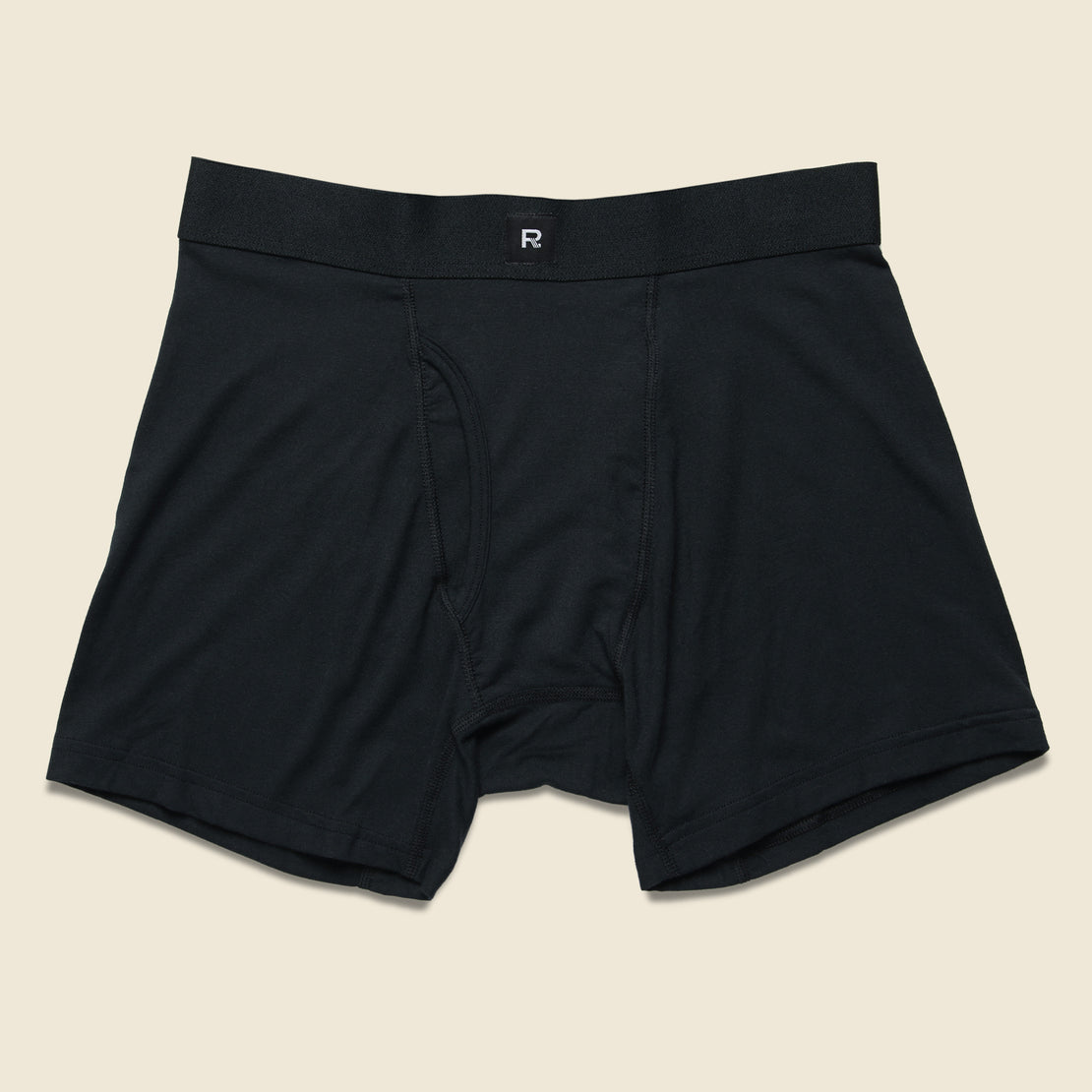 Richer Poorer Lewis Boxer Brief - Black