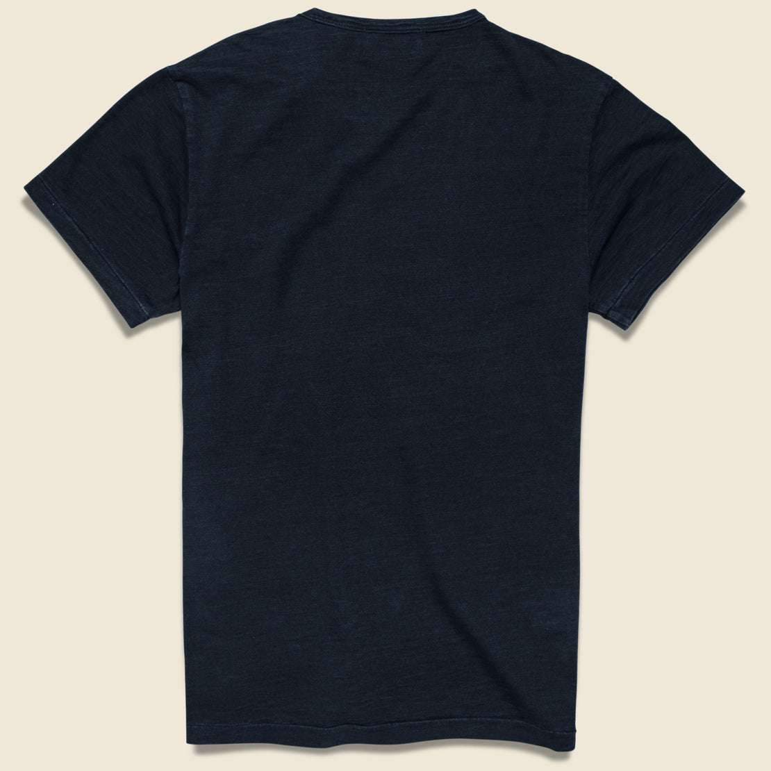 Rinsed Pocket Tee - Indigo