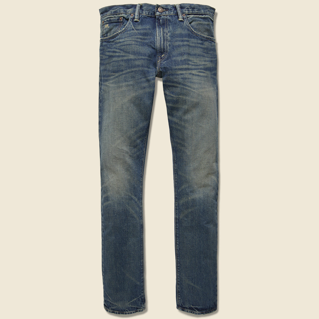 RRL Slim Fit Jean - Conrad Wash