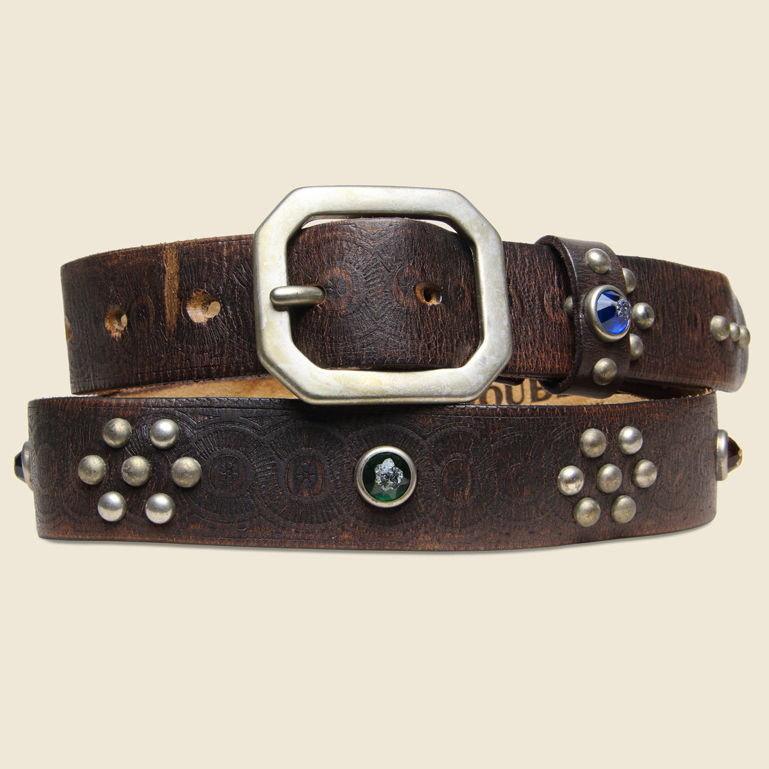 RRL Rasco Studded Belt