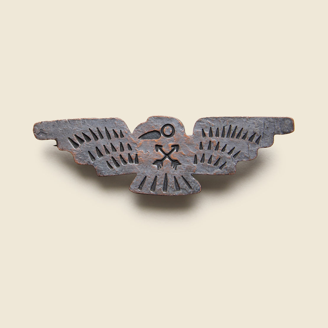 RRL Thunderbird Pin - Copper