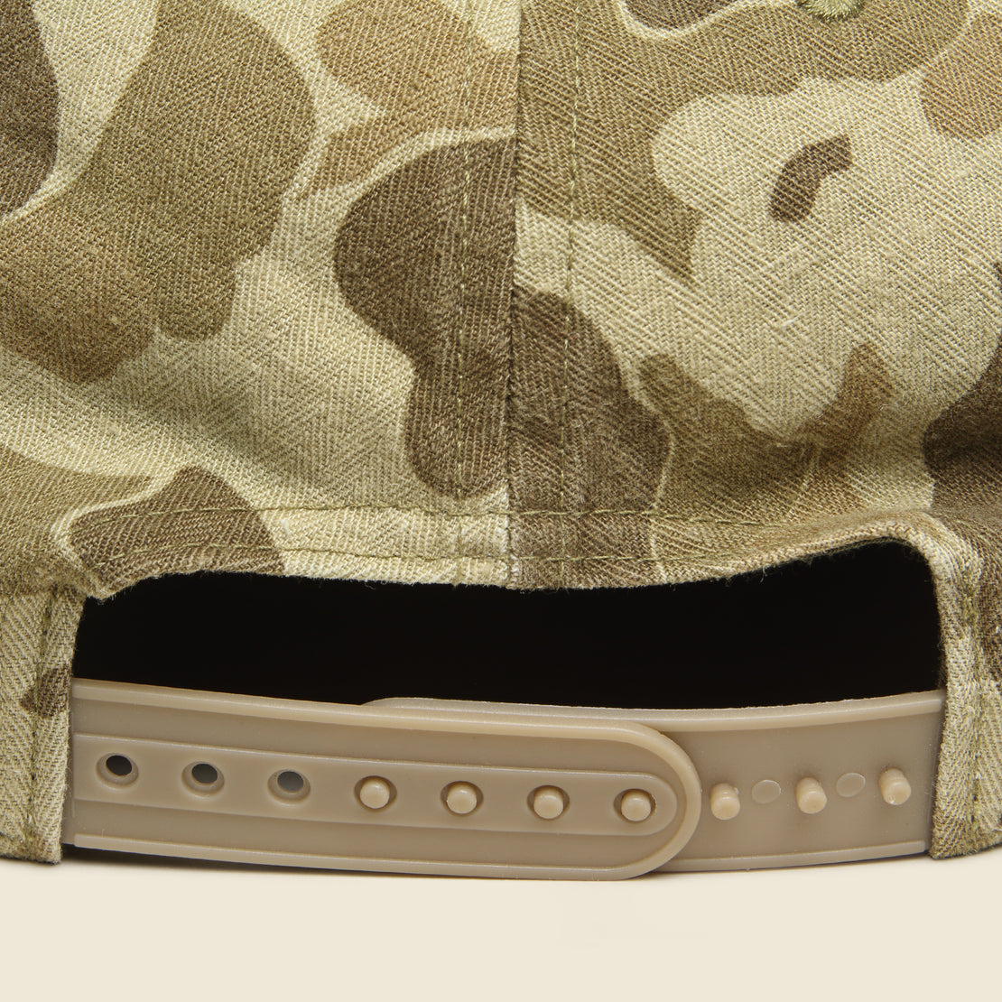 Camo Ball Cap - Brown/Tan