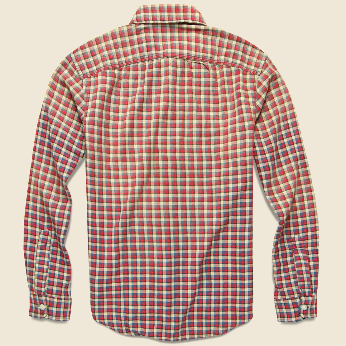 Lee Workshirt - Red/Blue Plaid