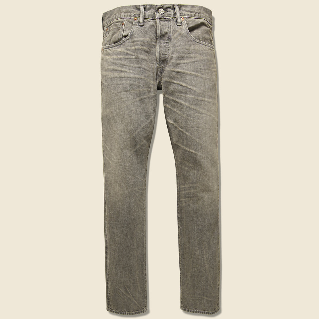RRL Slim Fit Jean - Cloudy Grey Wash