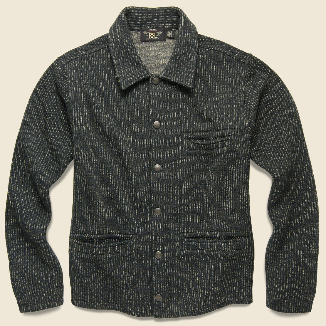 RRL Brown's Beach Work Jacket - Black Multi