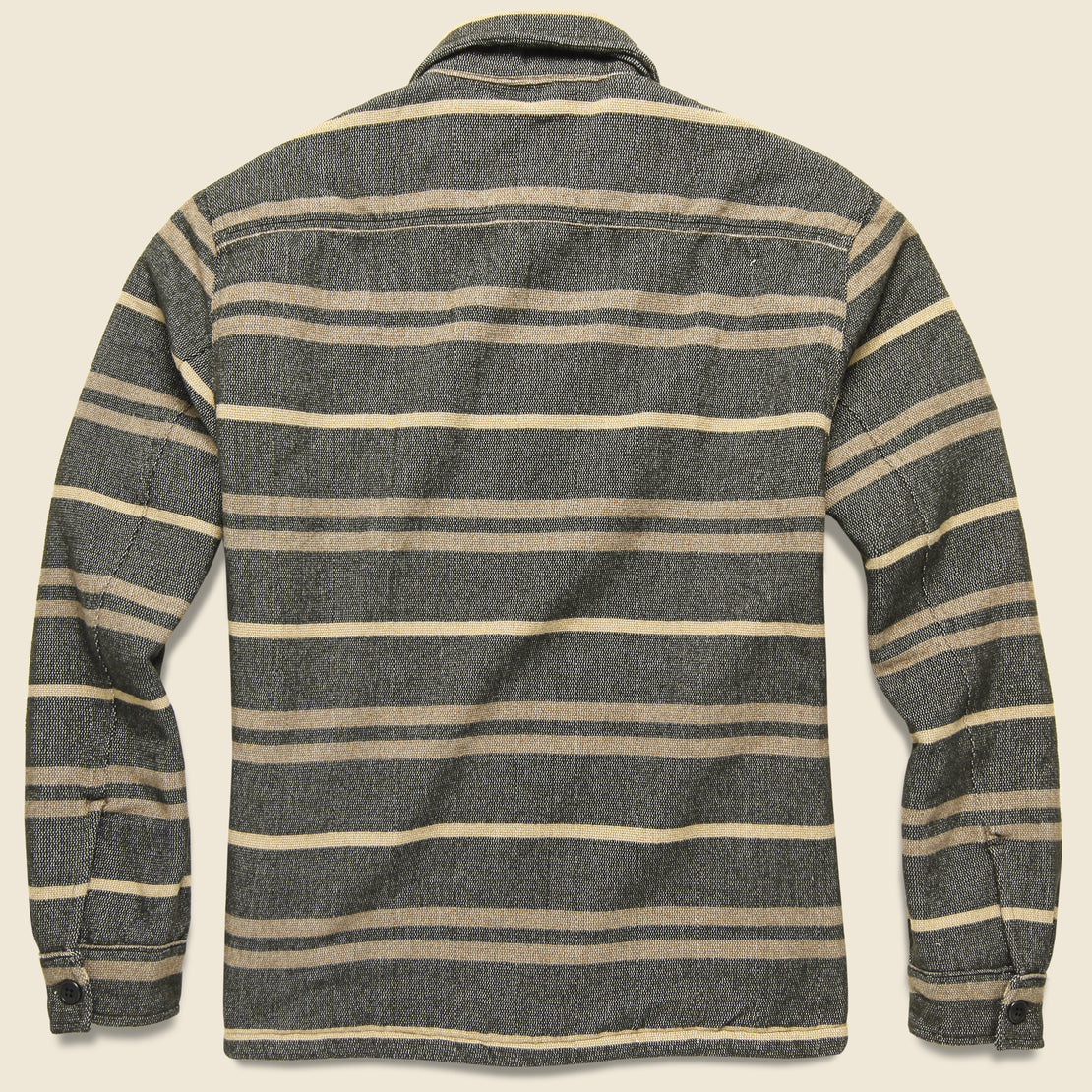 Canteen Stripe Juno Overshirt - Grey