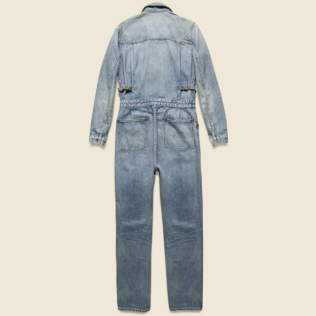 Left-Hand Denim Coverall - Ellison Wash