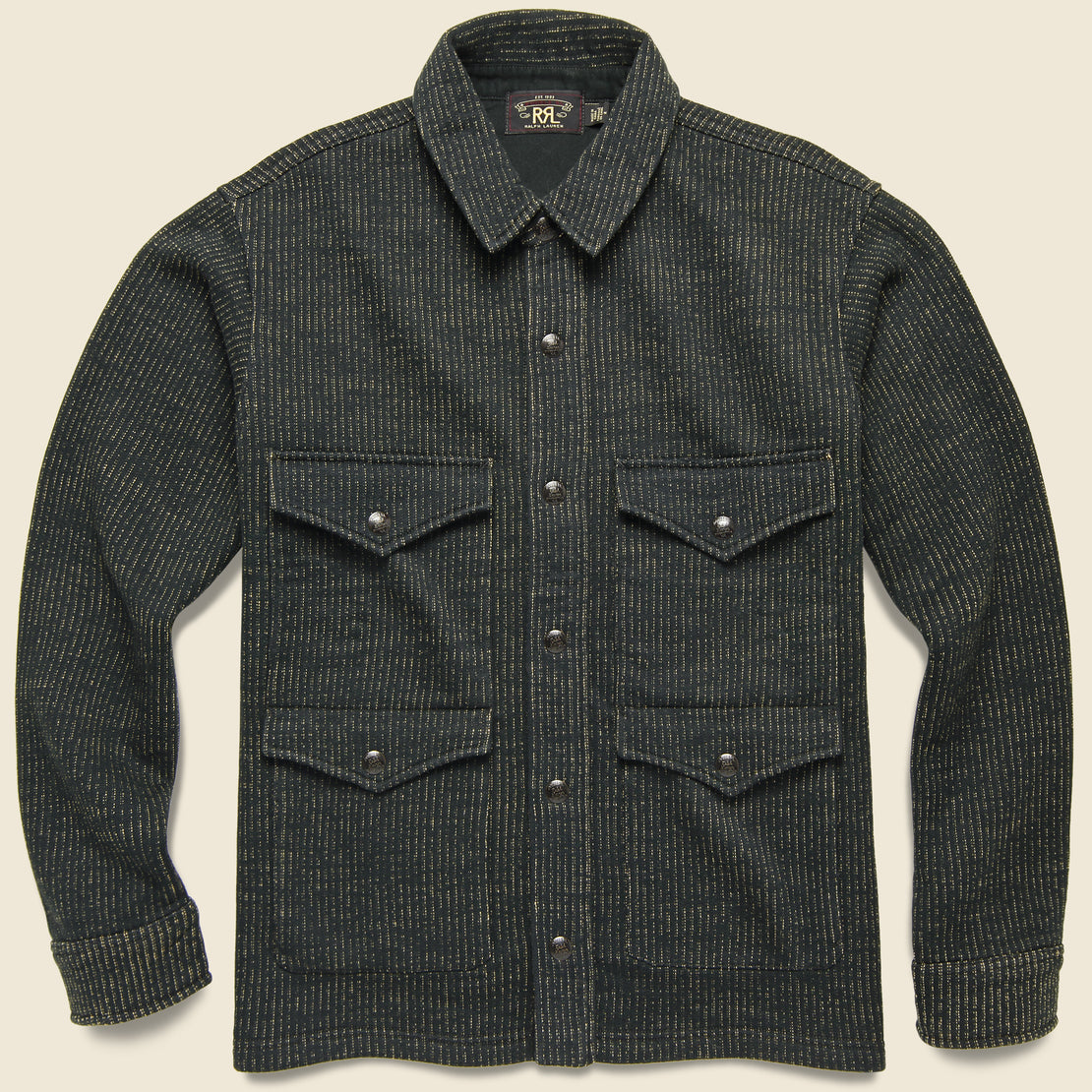 RRL Fleece Shirt Jacket - Browns Beach