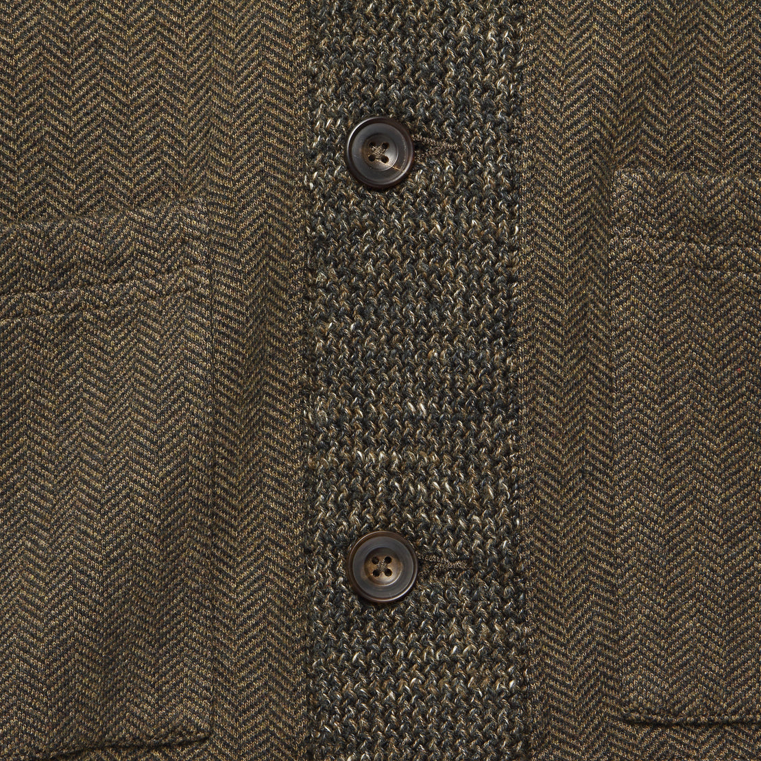 Trip Jacquard Cardigan - Brown