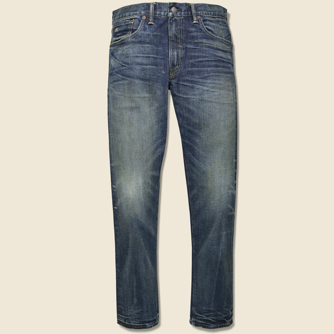 RRL Slim Narrow Jean - Mayes Wash