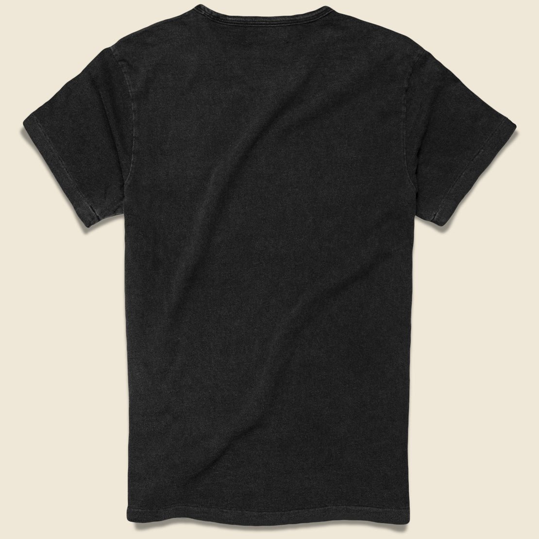 Slub Pocket Tee - Black