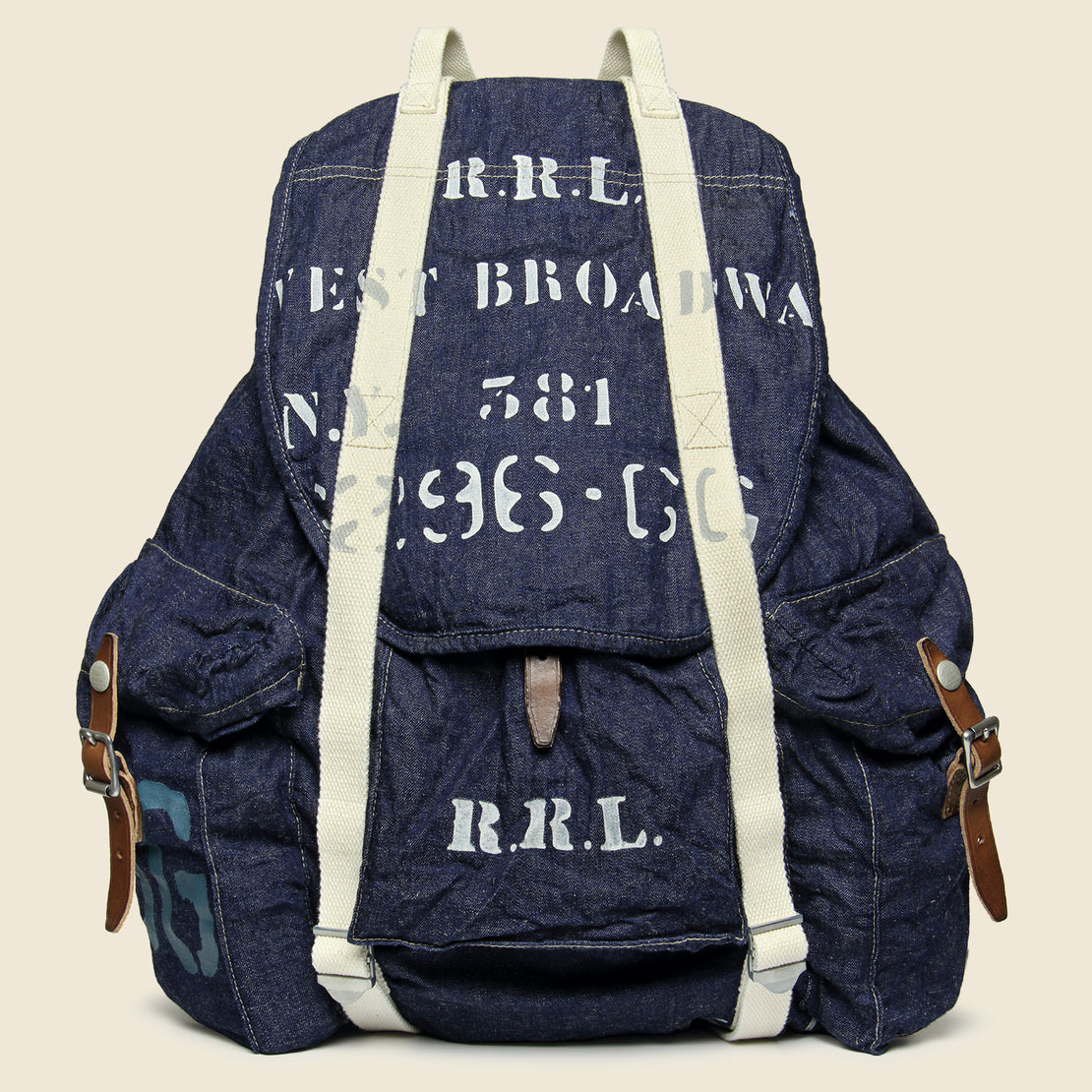 RRL Collins Backpack - Navy