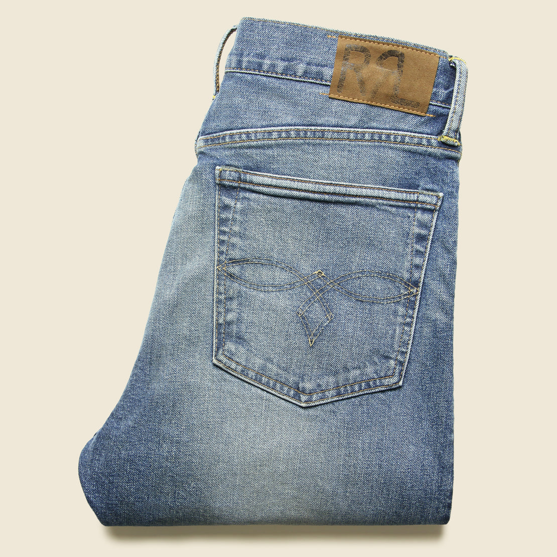 Vintage Straight Jean - Addison Wash