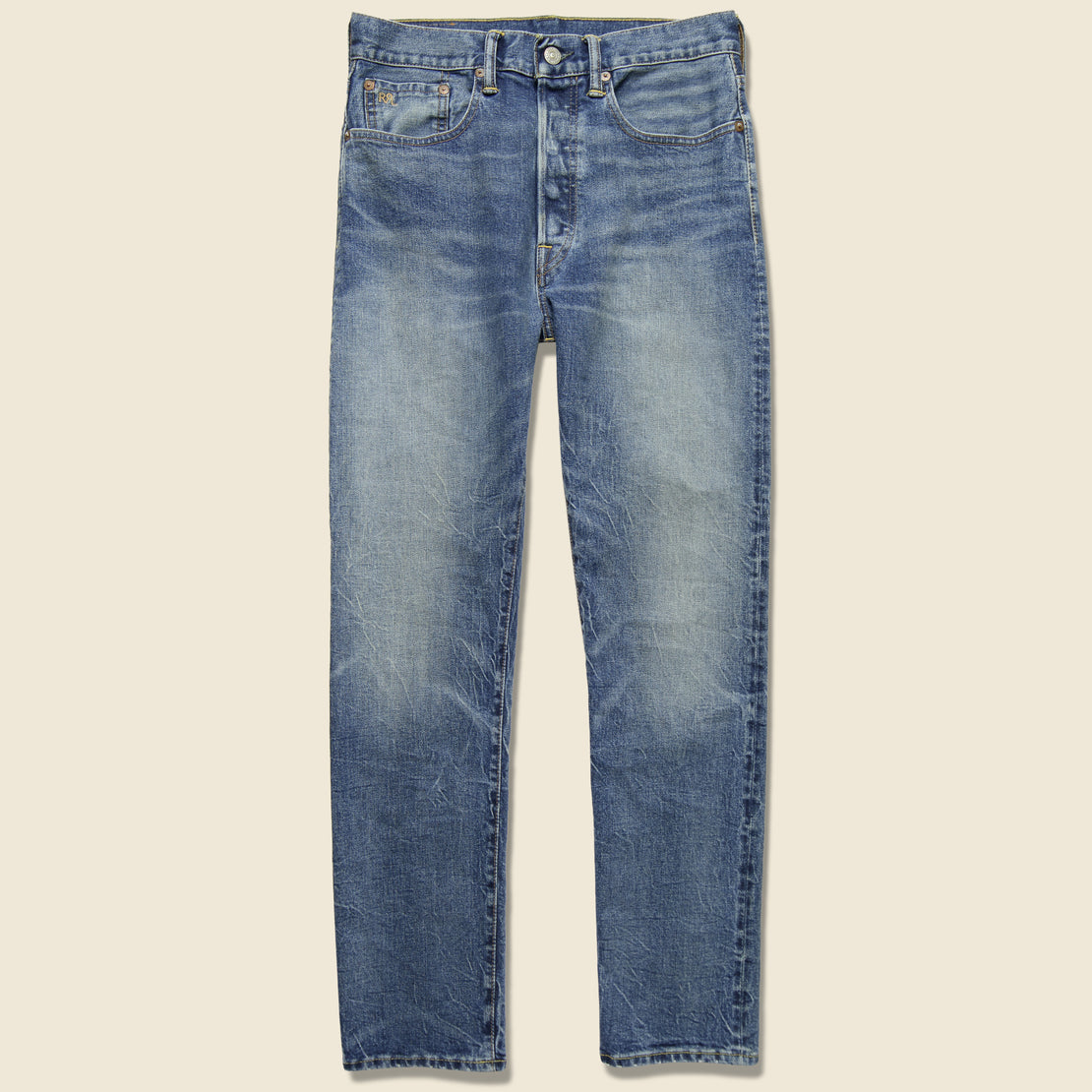 RRL Vintage Straight Jean - Addison Wash
