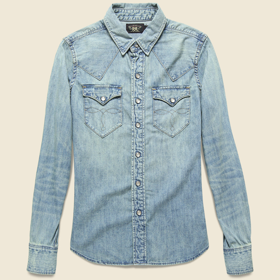 RRL Denim Buffalo Western - Medium Wash