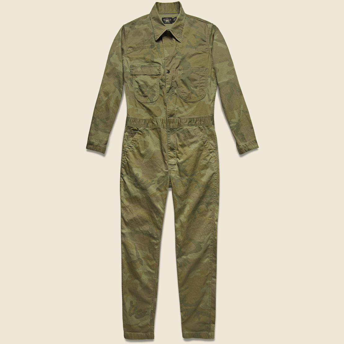 RRL Hilltop Coverall - Japanese Woodland Camo