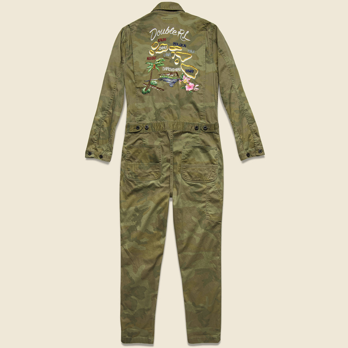 Hilltop Coverall - Japanese Woodland Camo