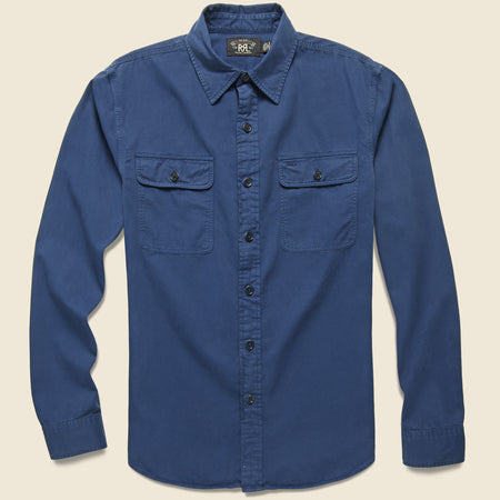 88f62388 Matlock Army Twill Workshirt - Navy