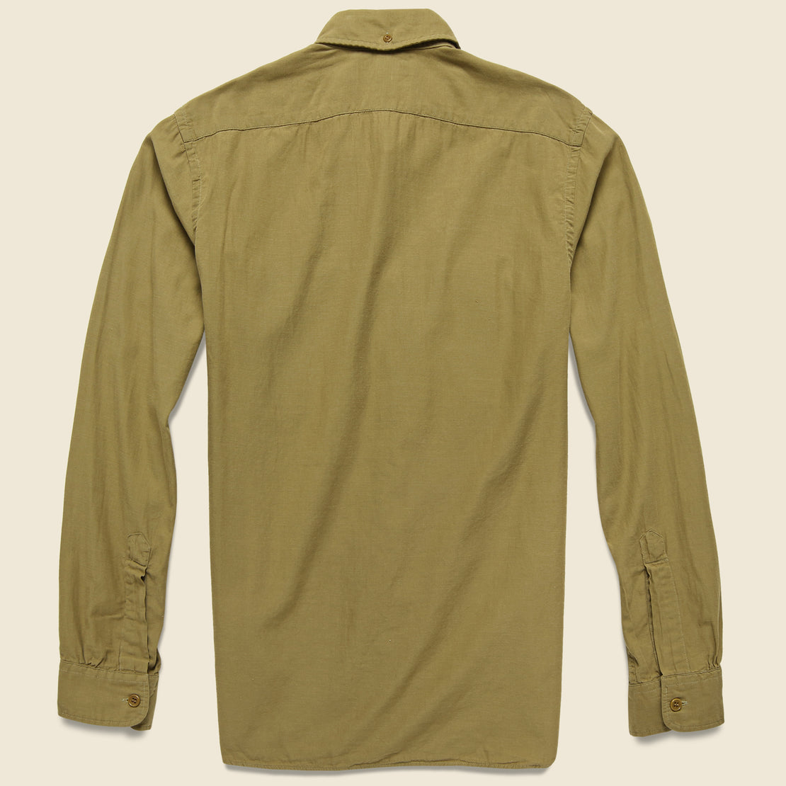 Clayton Sateen Military Shirt - Desert Tan