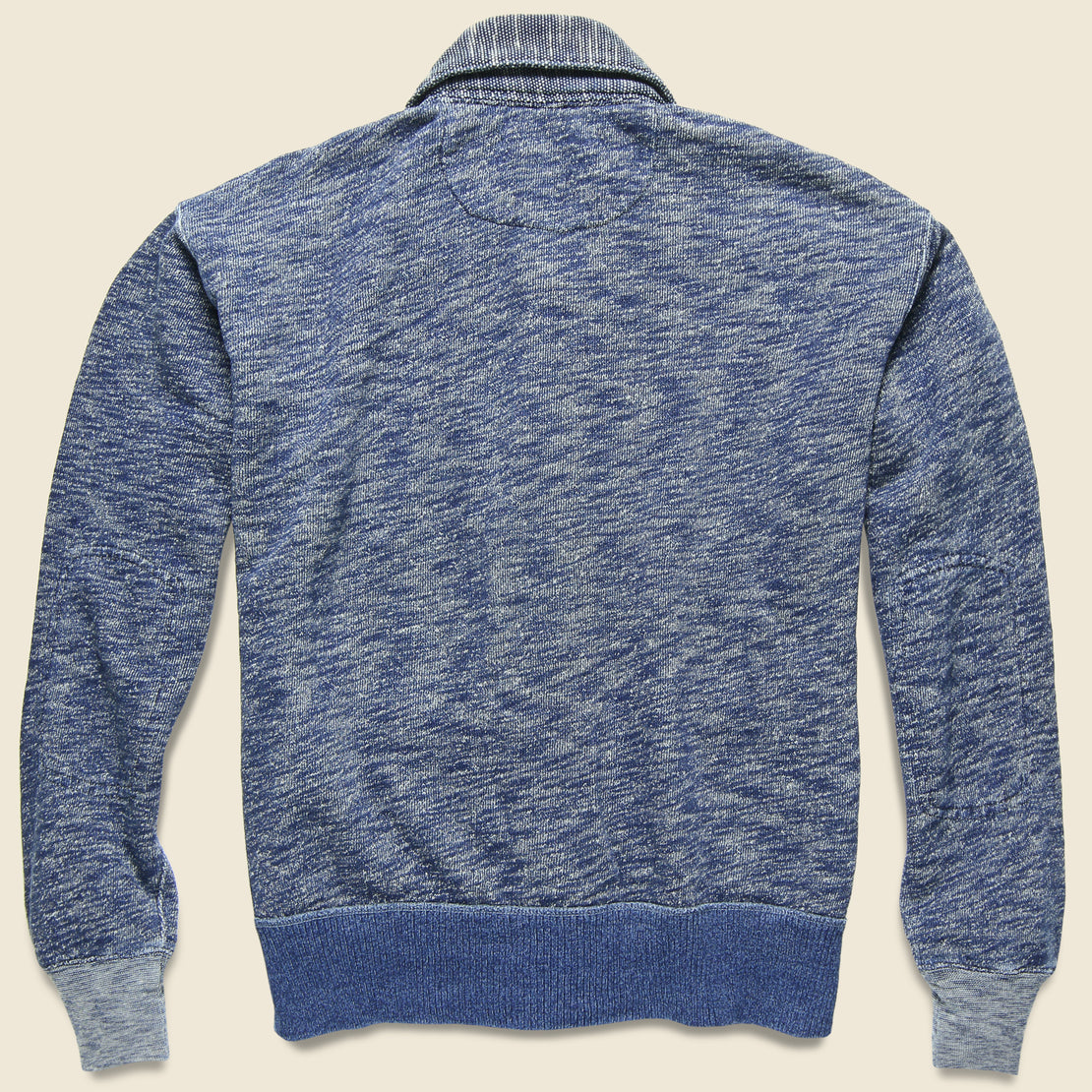 Vintage Fleece Coach Cardigan - Indigo Heather