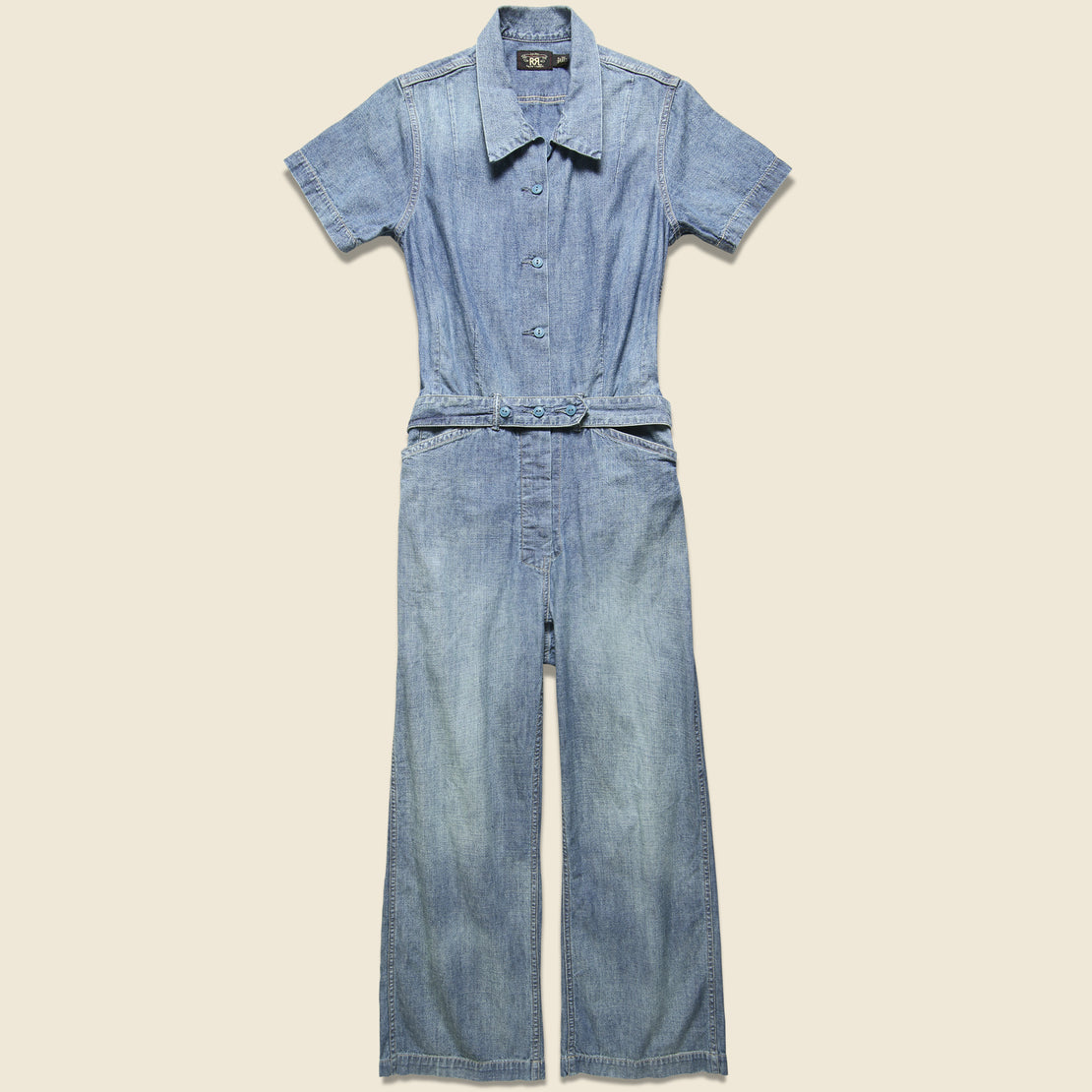 RRL Abbie Coverall - Chambray