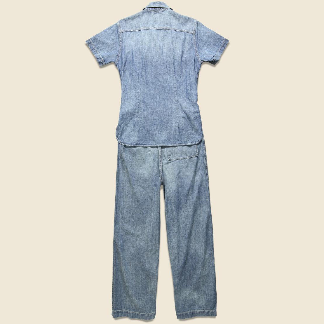 Abbie Coverall - Chambray