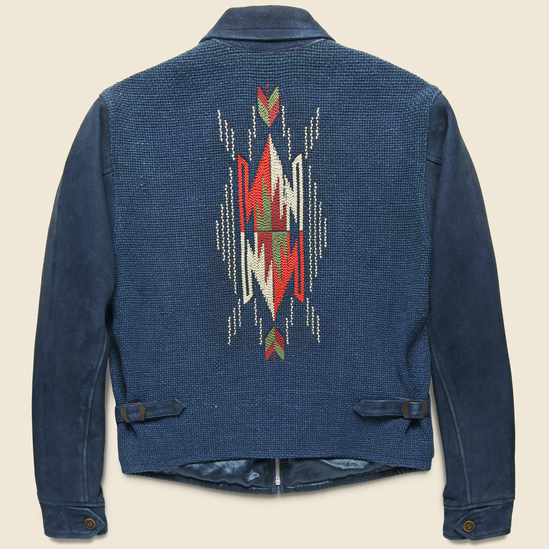 Chimayo Suede Ranch Jacket - Indigo