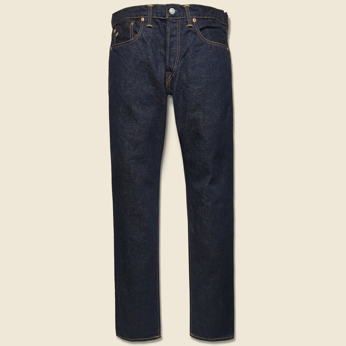 RRL Slim Fit Jean - Once Washed