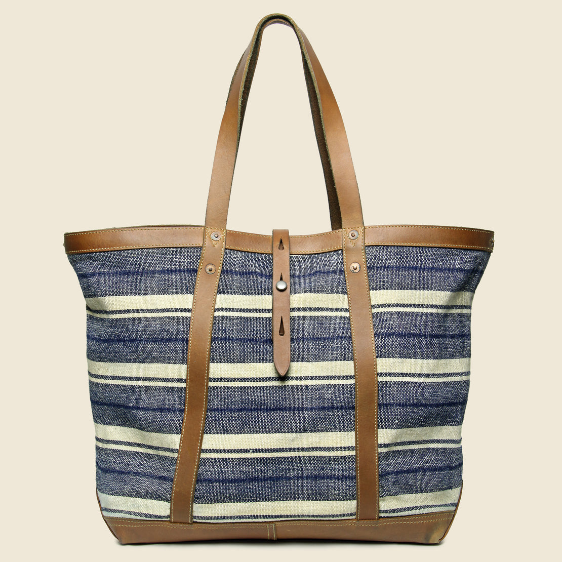 RRL Murphy Canvas Tote - Indigo/Tan