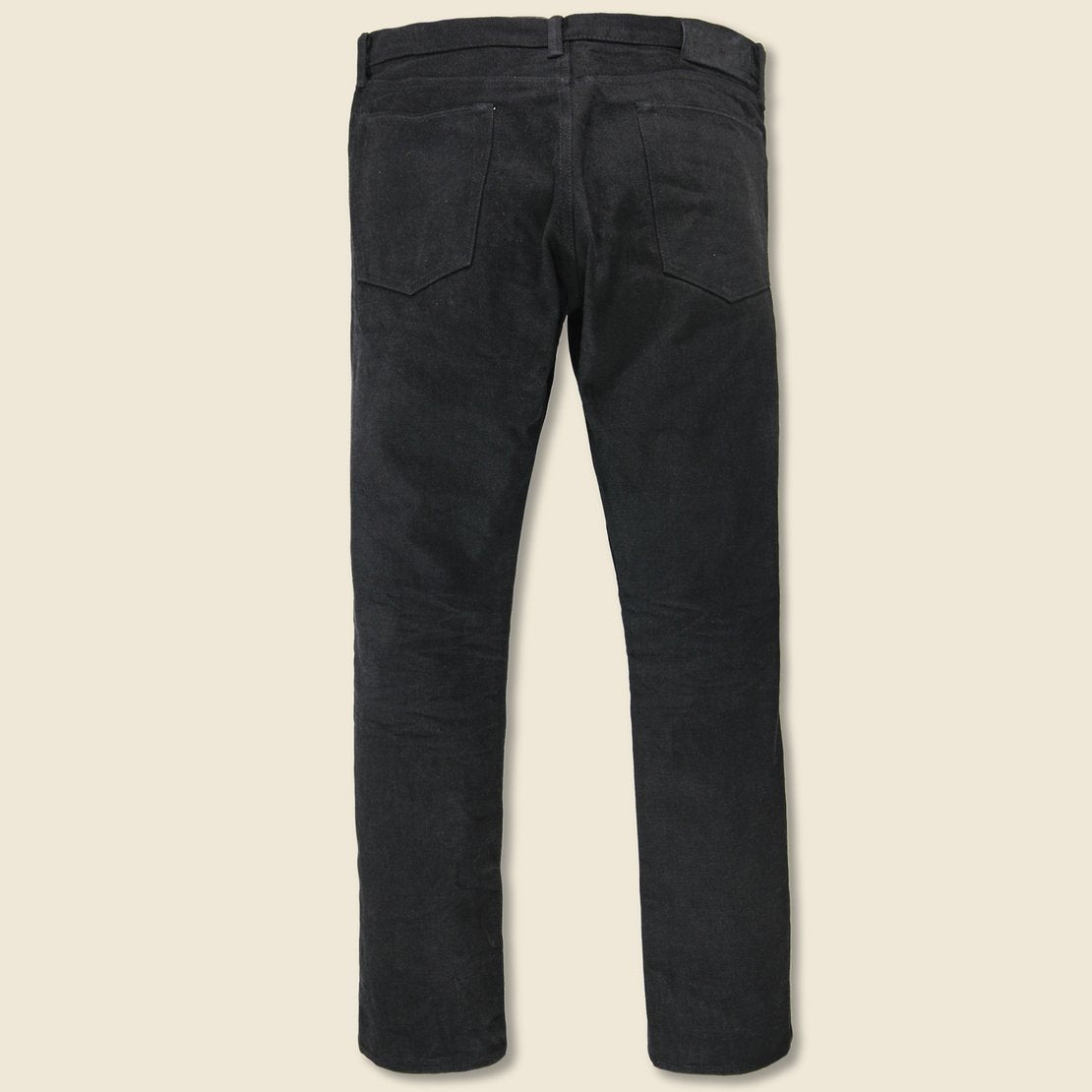 Slim Fit Jean - Black on Black