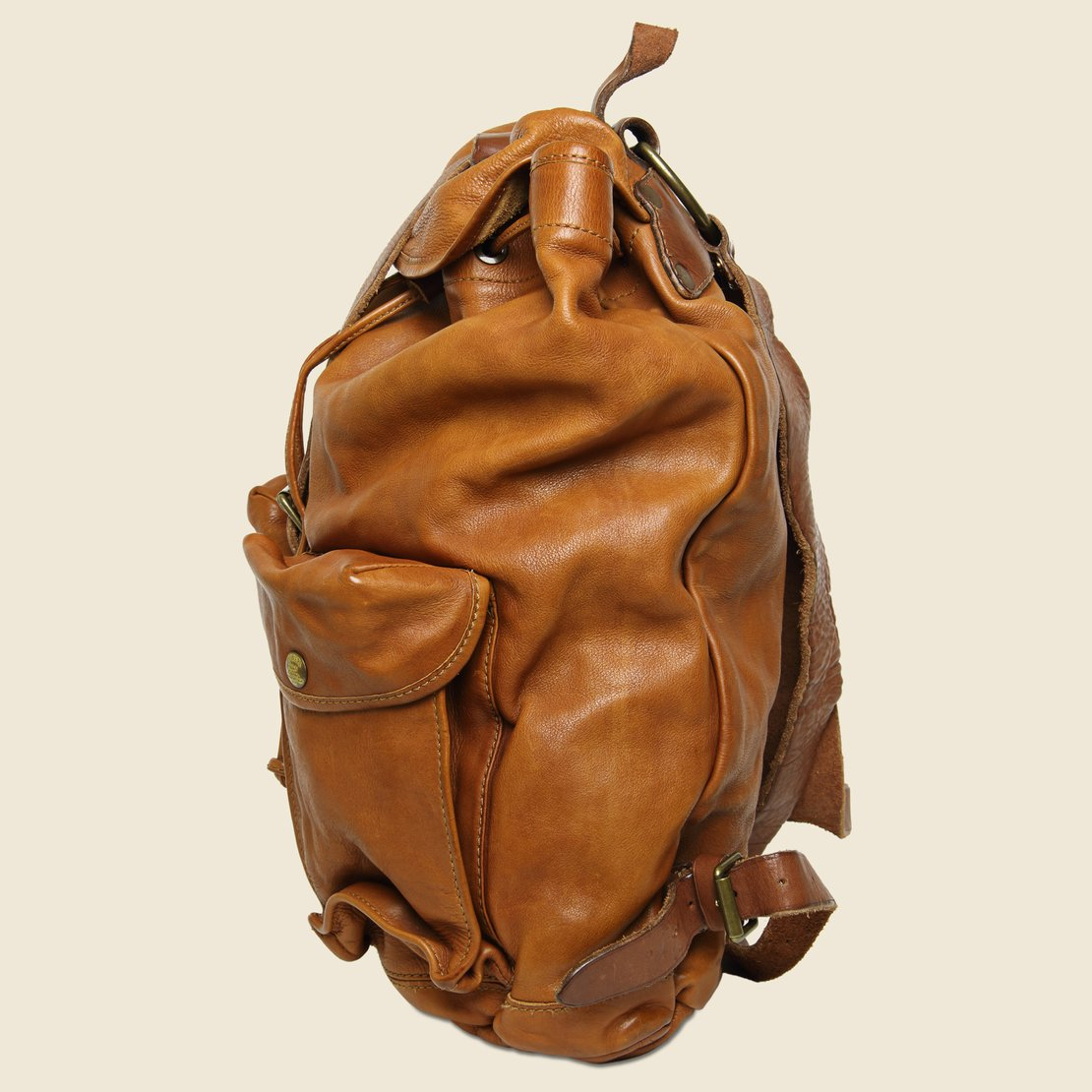 267861ccef50 Riley Leather Rucksack - Tan