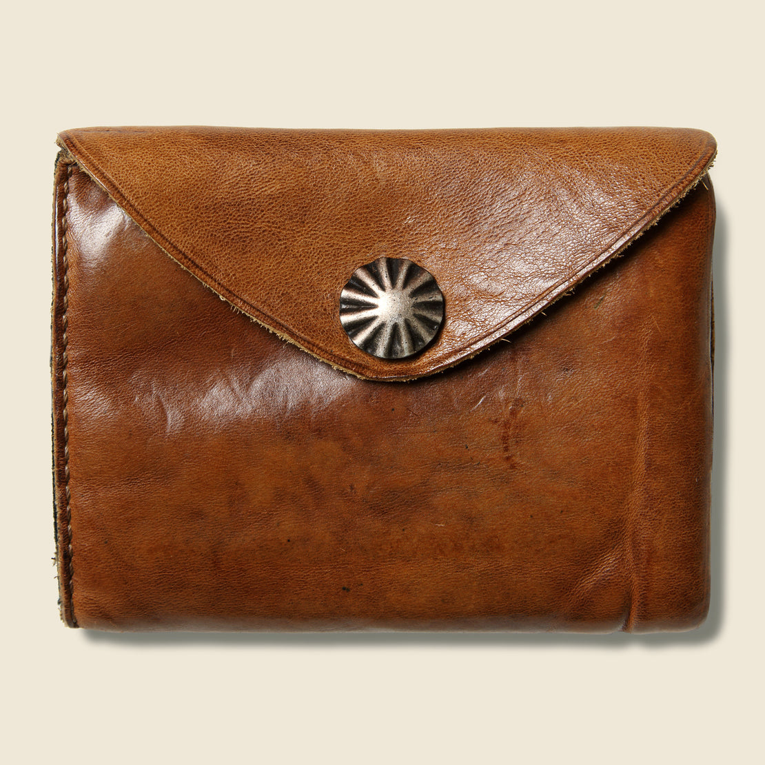 RRL Concho Coin Wallet - Brown