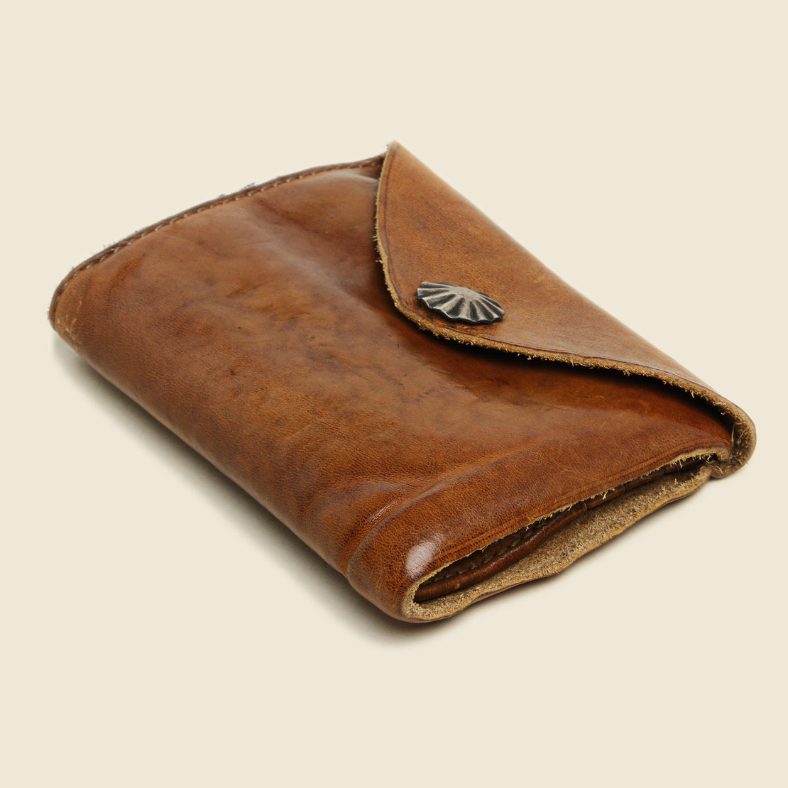 Concho Coin Wallet - Brown - RRL - STAG Provisions - Accessories - Wallets
