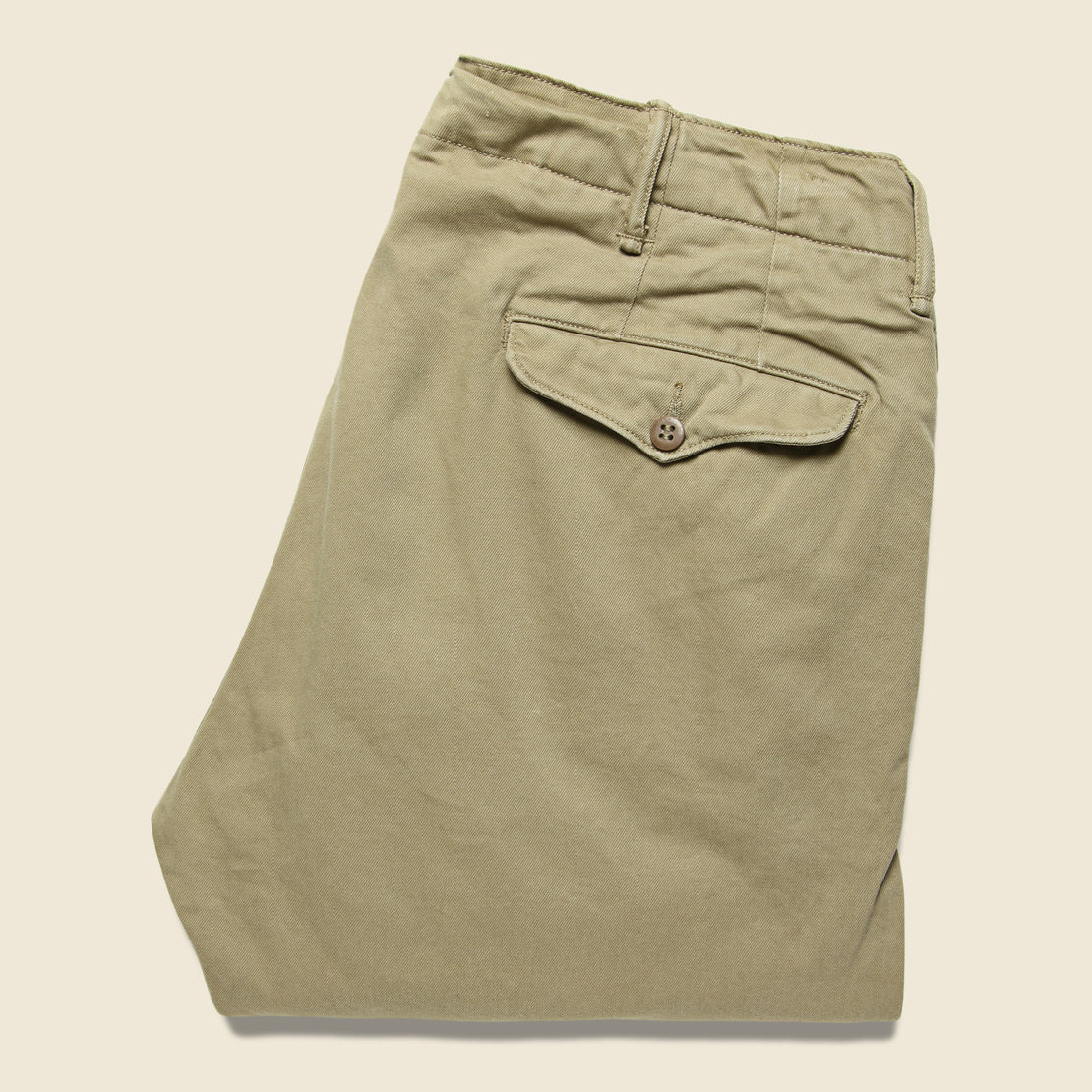Officer Chino - Khaki - RRL - STAG Provisions - Pants - Twill
