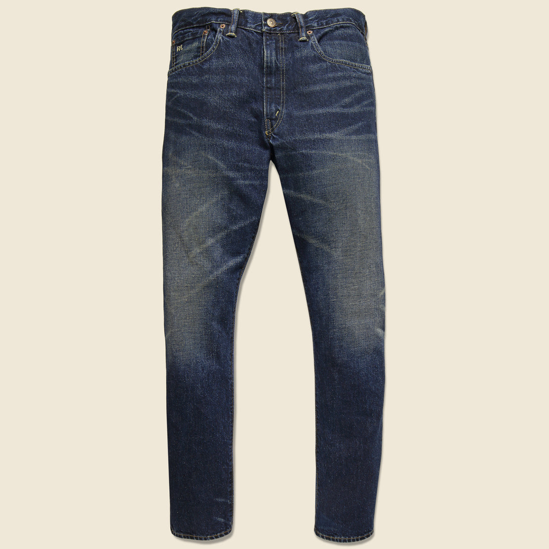 RRL Slim Narrow Jean - Grant Wash