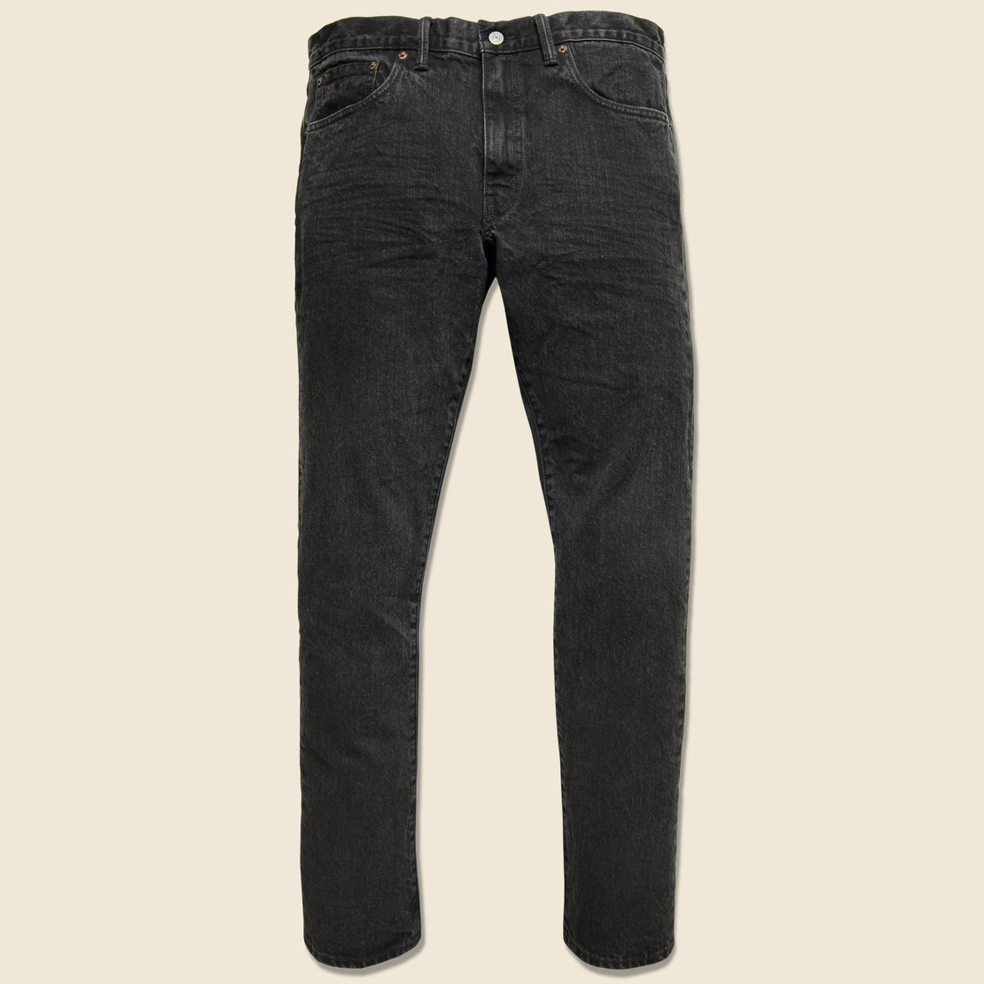 RRL Slim Narrow Jean - Worn-In Black