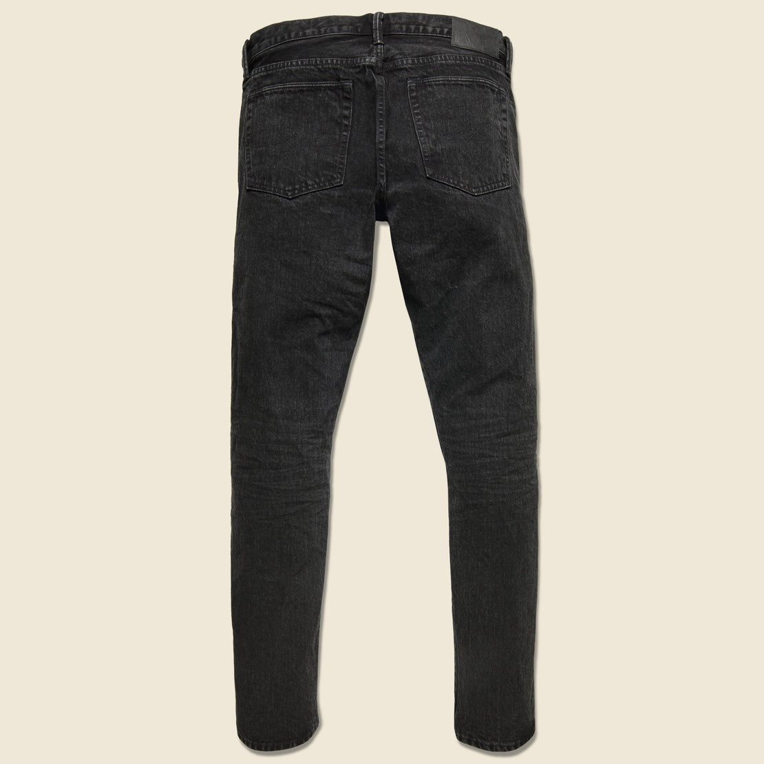Slim Narrow Jean - Worn-In Black