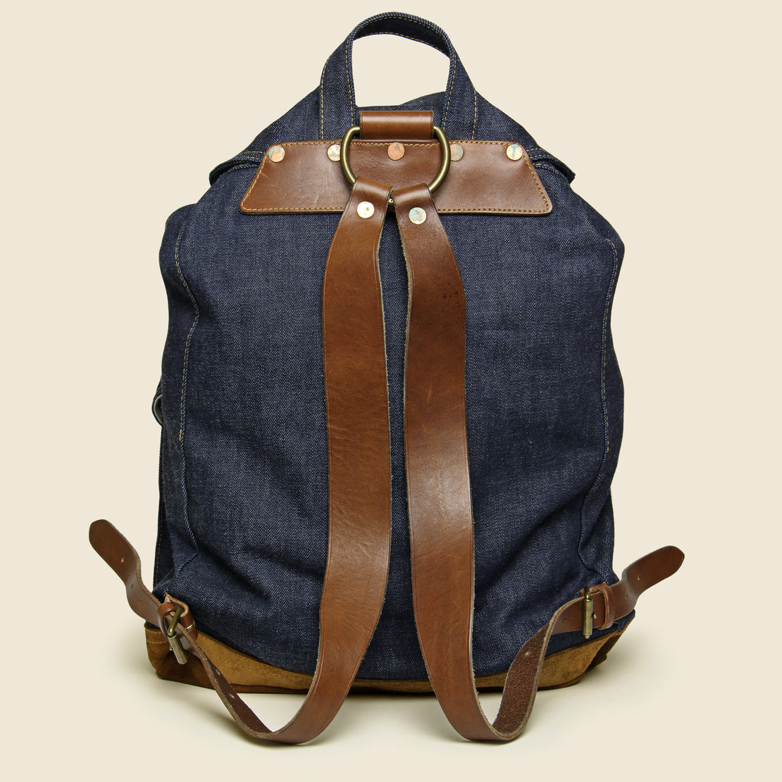 Riley Denim Rucksack - Indigo