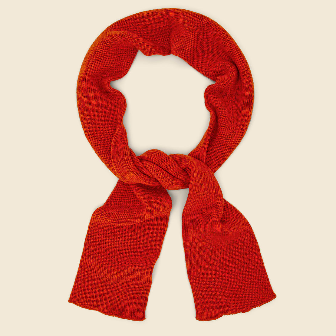 RoToTo Sock Stole Scarf - Orange