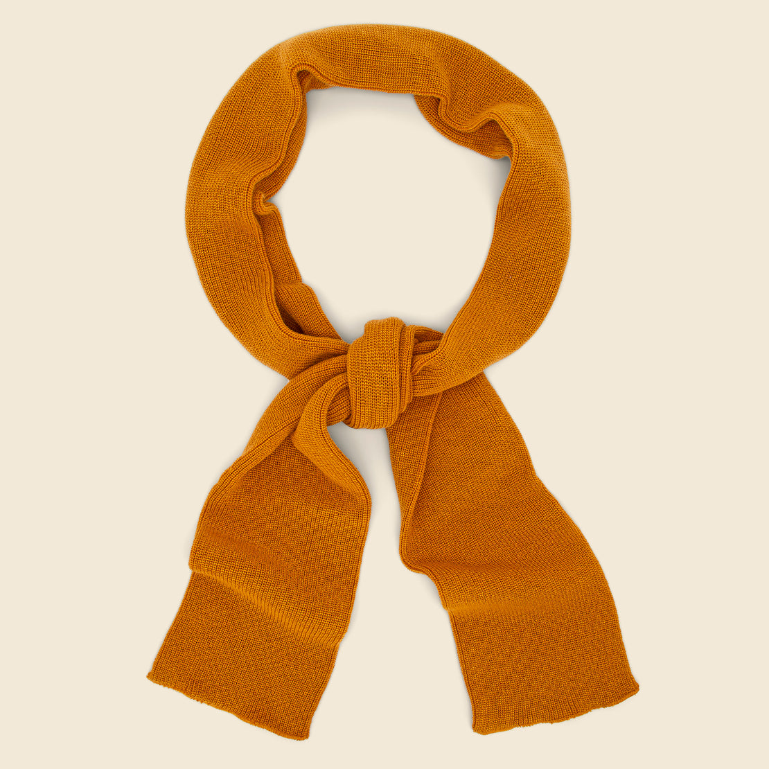 RoToTo Sock Stole Scarf - Yellow