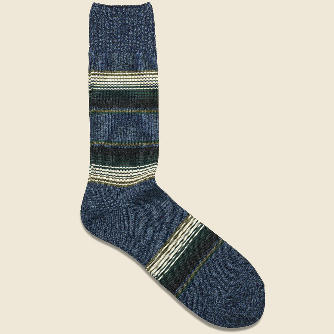 RoToTo Baja Cali Sock - Mix Navy