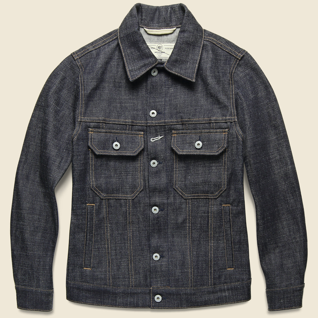 Rogue Territory Denim Cruiser Jacket - Cryptic Indigo
