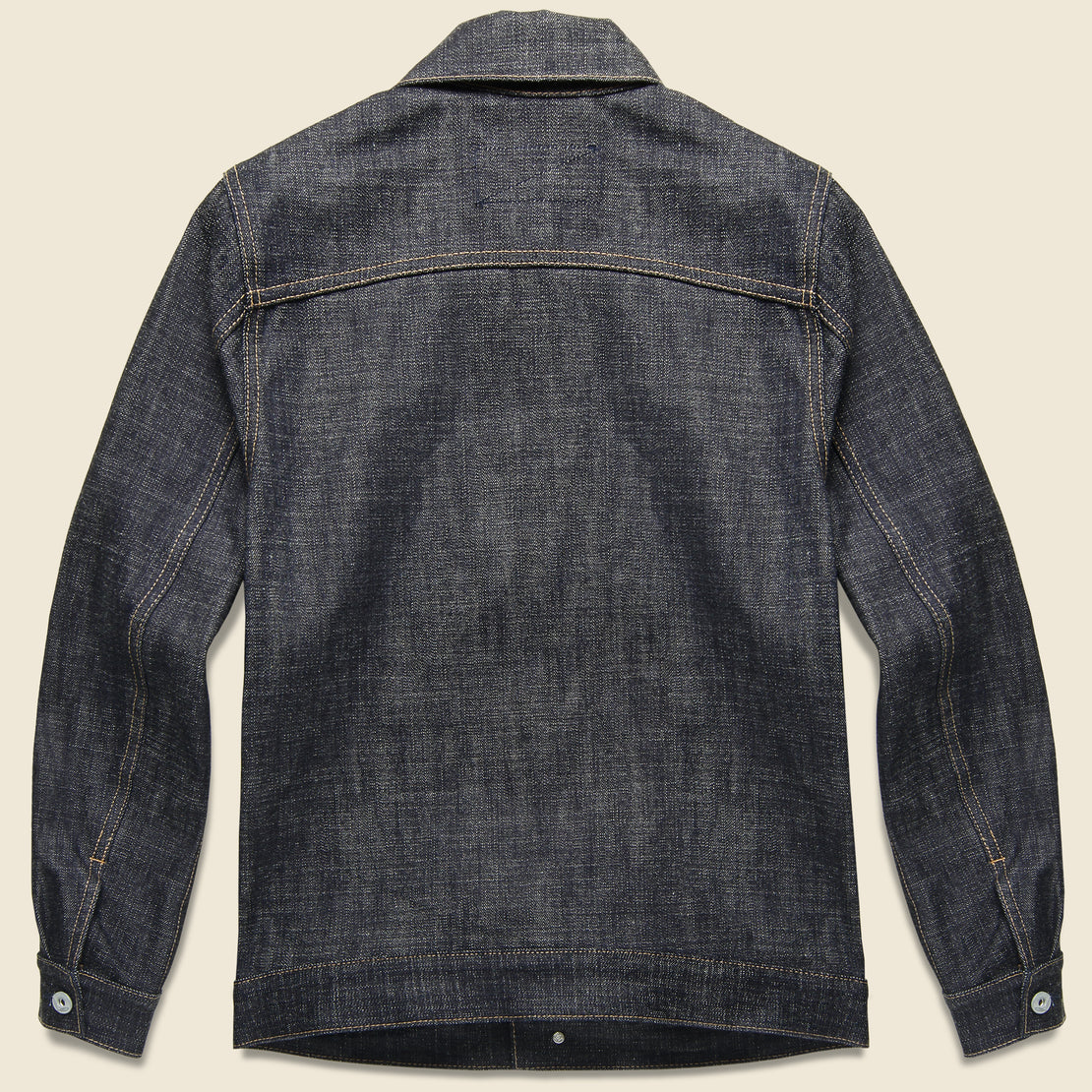 Denim Cruiser Jacket - Cryptic Indigo